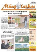 Mūsų Laikas - Jurbarko rajono laikraštis, Nr. 87 (880)