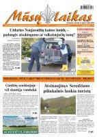 Mūsų Laikas - Jurbarko rajono laikraštis, Nr. 89 (882)