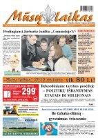 Mūsų Laikas - Jurbarko rajono laikraštis, Nr. 92 (885)