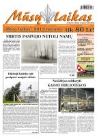 Mūsų Laikas - Jurbarko rajono laikraštis, Nr. 93 (886)