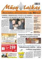 Mūsų Laikas - Jurbarko rajono laikraštis, Nr. 94 (887)