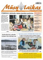 Mūsų Laikas - Jurbarko rajono laikraštis, Nr. 95 (888)