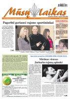 Mūsų Laikas - Jurbarko rajono laikraštis, Nr. 97 (889)
