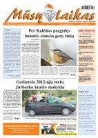 Mūsų Laikas - Jurbarko rajono laikraštis, Nr. 99 (901)