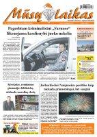 Mūsų Laikas - Jurbarko rajono laikraštis, Nr. 01 (902)