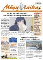 Mūsų Laikas - Jurbarko rajono laikraštis, Nr. 05 (906)