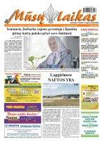 Mūsų Laikas - Jurbarko rajono laikraštis, Nr. 22 (923)