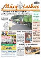Mūsų Laikas - Jurbarko rajono laikraštis, Nr. 31 (932)