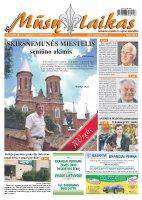 Mūsų Laikas - Jurbarko rajono laikraštis, Nr. 34 (935)