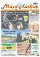 Mūsų Laikas - Jurbarko rajono laikraštis, Nr. 37 (938)