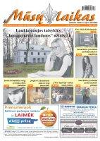 Mūsų Laikas - Jurbarko rajono laikraštis, Nr. 45 (946)