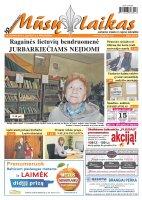 Mūsų Laikas - Jurbarko rajono laikraštis, Nr. 46 (947)