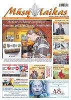 Mūsų Laikas - Jurbarko rajono laikraštis, Nr. 03 (956)