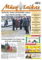 Mūsų Laikas - Jurbarko rajono laikraštis, Nr. 08 (961)