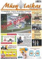 Mūsų Laikas - Jurbarko rajono laikraštis, Nr. 21 (974)