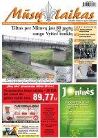 Mūsų Laikas - Jurbarko rajono laikraštis, Nr. 25 (978)