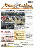 Mūsų Laikas - Jurbarko rajono laikraštis, Nr. 27(980)