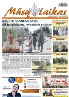 Mūsų Laikas - Jurbarko rajono laikraštis, Nr. 28 (972)