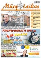 Mūsų Laikas - Jurbarko rajono laikraštis, Nr. 38 (982)