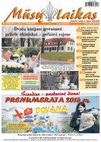 Mūsų Laikas - Jurbarko rajono laikraštis, Nr. 42 (986)