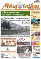 Mūsų Laikas - Jurbarko rajono laikraštis, Nr. 46 (990)