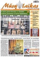 Mūsų Laikas - Jurbarko rajono laikraštis, Nr. 01 (997)