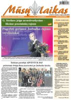 Mūsų Laikas - Jurbarko rajono laikraštis, Nr. 03 (999)
