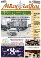 Mūsų Laikas - Jurbarko rajono laikraštis, Nr. 04 (1000)