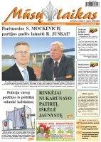 Mūsų Laikas - Jurbarko rajono laikraštis, Nr. 09 (1005)