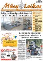 Mūsų Laikas - Jurbarko rajono laikraštis, Nr. 21 (1017)