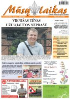 Mūsų Laikas - Jurbarko rajono laikraštis, Nr. 22 (1018)