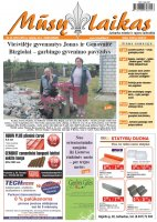 Mūsų Laikas - Jurbarko rajono laikraštis, Nr. 25 (1021)