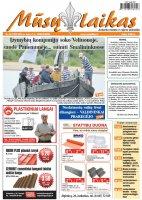Mūsų Laikas - Jurbarko rajono laikraštis, Nr. 26 (1022)