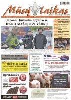 Mūsų Laikas - Jurbarko rajono laikraštis, Nr. 29 (1025)