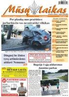 Mūsų Laikas - Jurbarko rajono laikraštis, Nr. 33 (1029)