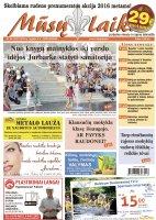 Mūsų Laikas - Jurbarko rajono laikraštis, Nr. 35 (1031)