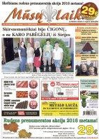 Mūsų Laikas - Jurbarko rajono laikraštis, Nr. 36 (1032)