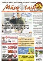 Mūsų Laikas - Jurbarko rajono laikraštis, Nr. 38 (1034)