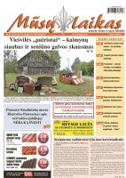 Mūsų Laikas - Jurbarko rajono laikraštis, Nr. 40(1036)
