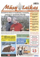 Mūsų Laikas - Jurbarko rajono laikraštis, Nr. 44 (1040)