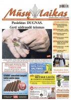 Mūsų Laikas - Jurbarko rajono laikraštis, Nr. 45 (1041)