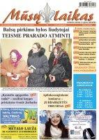 Mūsų Laikas - Jurbarko rajono laikraštis, Nr. 05 (1053)