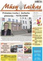 Mūsų Laikas - Jurbarko rajono laikraštis, Nr. 09 (1057)