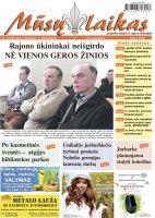 Mūsų Laikas - Jurbarko rajono laikraštis, Nr. 13 (1061)