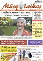 Mūsų Laikas - Jurbarko rajono laikraštis, Nr. 22 (1070)