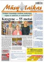 Mūsų Laikas - Jurbarko rajono laikraštis, Nr. 35 (1083)