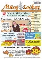 Mūsų Laikas - Jurbarko rajono laikraštis, Nr. 42 (1090)