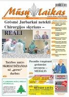 Mūsų Laikas - Jurbarko rajono laikraštis, Nr. 49 (1097)