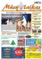 Mūsų Laikas - Jurbarko rajono laikraštis, Nr. 50 (1098)