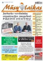 Mūsų Laikas - Jurbarko rajono laikraštis, Nr. 1 (1101)